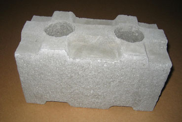 Foam block concrete forms house plans for Cement foam blocks